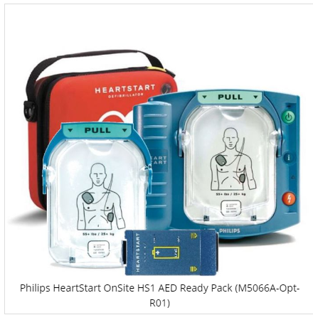 Philips HeartStart Onsite HS1 AED Ready Pack ( M5066A-Opt-R01)